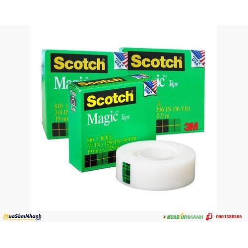 Băng dính Scotch Magic 19×32.9m